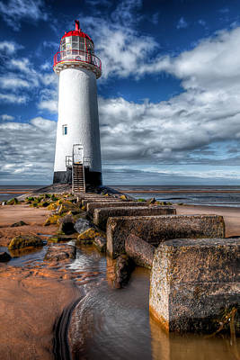 Lighthouse Entrance Print by Adrian Evans