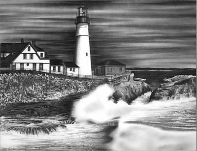 Lighthouse Original by Jerry Winick
