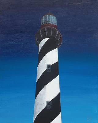 Light House Painting - Lighthouse by Kelvin Kelley