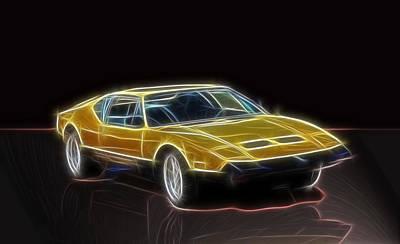 Lightning Fast Print by Barry Jones