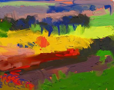 Limburg Landscape Print by Nop Briex