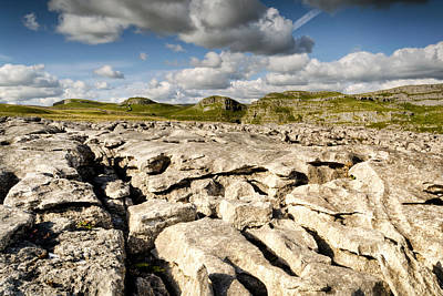 Knaresborough Photograph - Limestone Pavements At Malham by Chris Frost