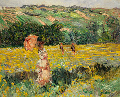 Limetz Meadow Print by Claude Monet