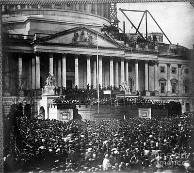 Lincoln Inauguration, 1861 Print by Chicago Historical Society