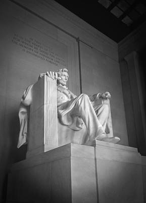 Lincoln Memorial  Print by Mike McGlothlen
