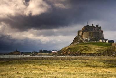 Lindisfarne Castle, Beblowe Crag Print by John Short