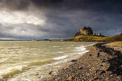 Lindisfarne Photograph - Lindisfarne Castle, Holy Island by John Short