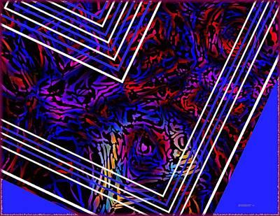 Lines And Tones Print by Mario Perez