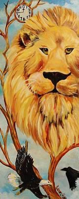 Lion Of Judah Original by Diana Kaye Obe