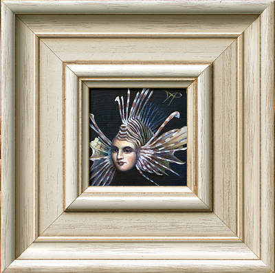 Lionfish Painting - Lionessfish by Patrick Anthony Pierson