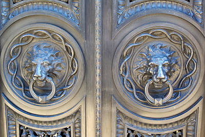 Grill Gate Photograph - Lionsgate by Norm Holmberg