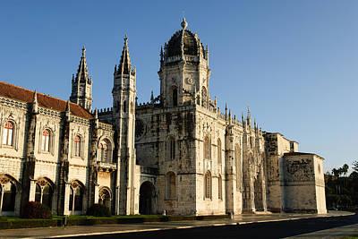 Y120831 Photograph - Lisbon, Portugal - Monasterio De Los Jerónimos De by David Min