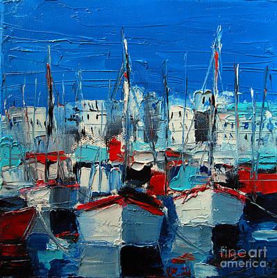 Little Harbor Print by Mona Edulesco