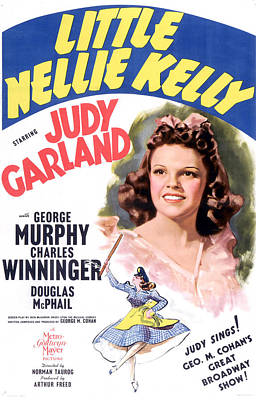 Little Nellie Kelly, Judy Garland, 1940 Print by Everett