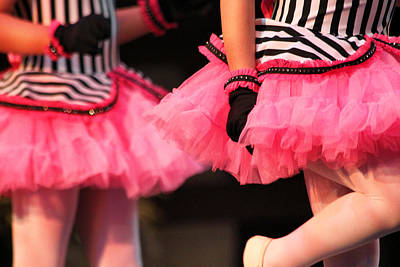 Little Pink Tutus Print by Lauri Novak