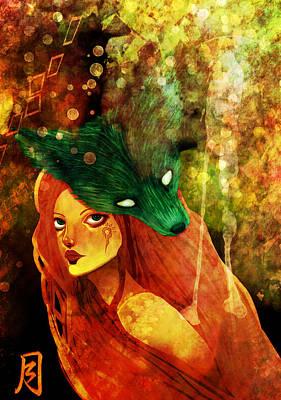 Little Red Summer Print by Amanda Yauch