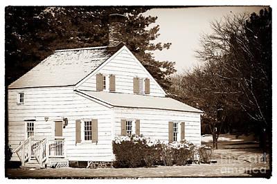 Little White House Print by John Rizzuto
