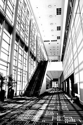 Black And White Photograph - Lobby by Scott Brown