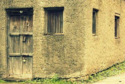 Vishakha Photograph - Locked And Abandoned - 1 by Vishakha Bhagat