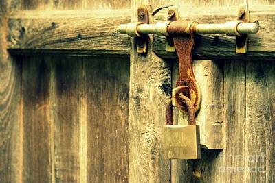 Vishakha Photograph - Locked And Abandoned - 2 by Vishakha Bhagat