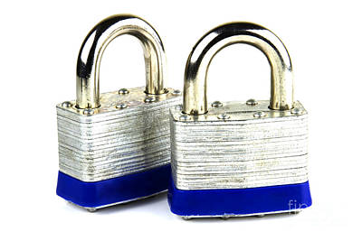 Locks Print by Blink Images