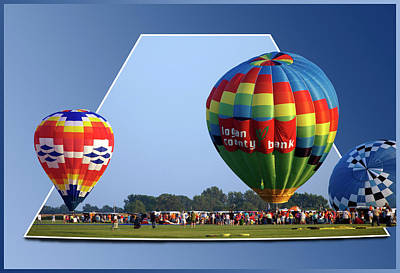 Logan County Bank Balloon 05 Print by Thomas Woolworth