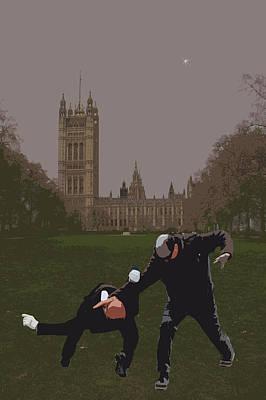 London Matrix Martial Arts Smith Print by Jasna Buncic
