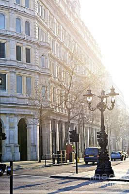 Lamppost Photograph - London Street by Elena Elisseeva