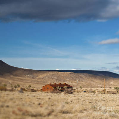 Pioneertown Photograph - Lone House In The Desert by Eddy Joaquim