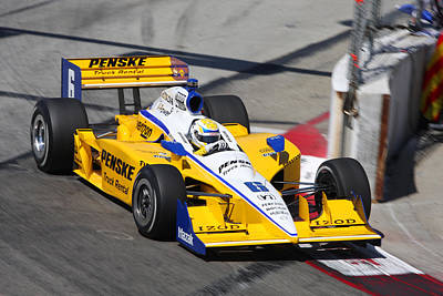 Indy Car Photograph - Long Beach by Steve Parr