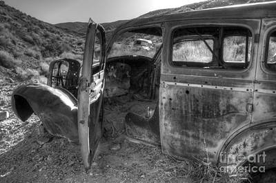 Wrecked Cars Photograph - Long Forgotten by Bob Christopher