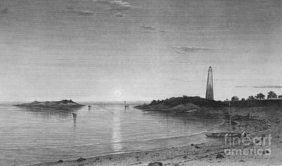 Hudson River School Photograph - Long Island Sound, 1863 by Granger