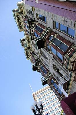 Looking Up From The Gaslamp Print by John  Greaves