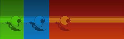 Pearl Jam Digital Art - Los Angeles by Tomas Raul Calvo Sanchez