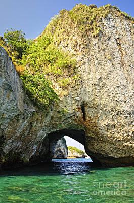 Puerto Vallarta Photograph - Los Arcos Park In Mexico by Elena Elisseeva