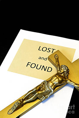 Lost And Found Print by John Van Decker
