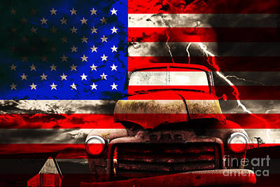 Truck Digital Art - Lost In America by Wingsdomain Art and Photography