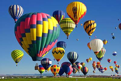 Lots Of Balloons Print by Joe Myeress