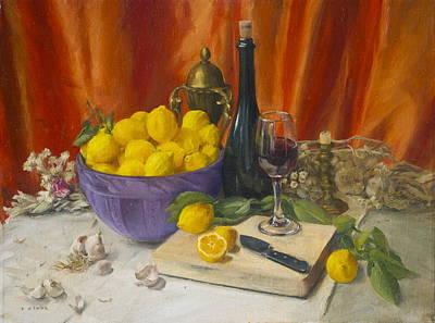Lotta Lemons Original by Roger Clark