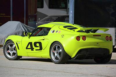 Lotus Racecar Photograph - Lotus Exige by Alan Raasch
