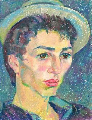 Portrait Painting - Louis Rousseau by Leonid Petrushin