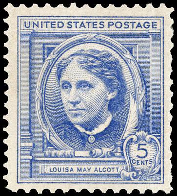 Louisa May Alcott Photograph - Louisa May Alcott (1832-1888) by Granger