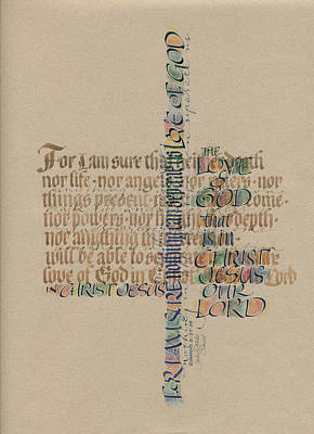 Love Of God Print by Judy Dodds