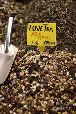 Leda Photograph - Love Tea by Leslie Leda