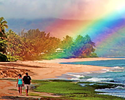 Love Under The Rainbow Print by Joel Lau
