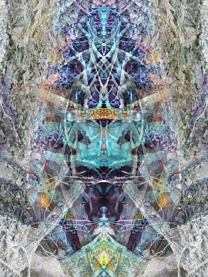 Lovefest Print by Lynzi Wildheart