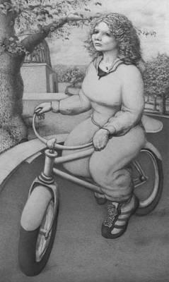 Lovely Little Plump Lady Print by Louis Gleason
