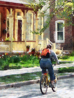 Girls Photograph - Lovely Spring Day For A Ride by Susan Savad