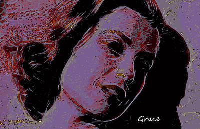 Grace Kelly Painting - Loves Shinning Through by Steve K