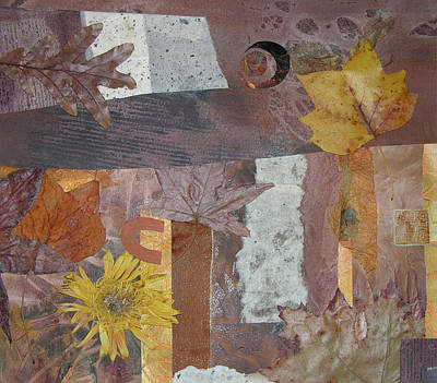 Adele Mixed Media - Loving Fall by Adele Greenfield